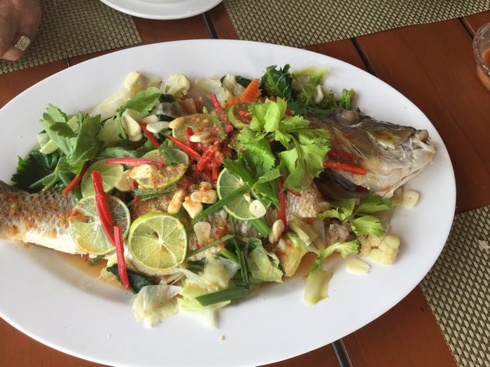 Thai food fish