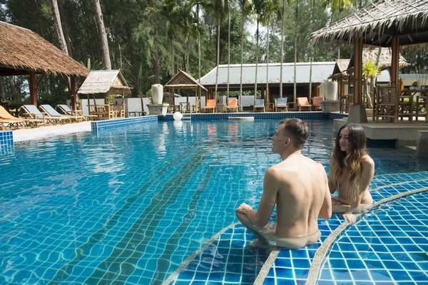 Naturist Swimming Pool Thailand
